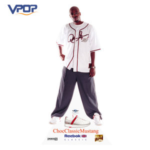 Shoes Store Celebrity Endorsement Photo Advertising Display Standee