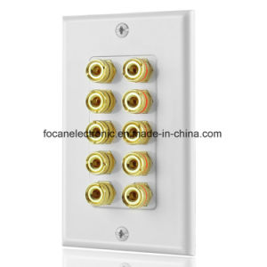AV Wall Plate Wall Socket Face Plate pictures & photos