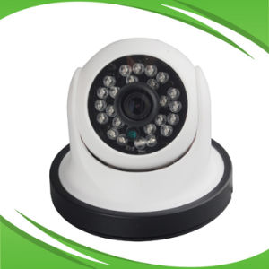 Cheap 720p 1.0MP Plastic IR Dome Network Camera pictures & photos