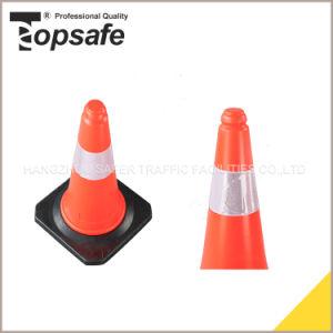 50cm LDPE Fluorescent Orangetwo Parts Traffic Cones (S-1202L) pictures & photos