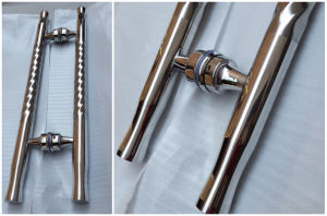 Glass Fitting Door Stainless Steel Pull Handle pictures & photos