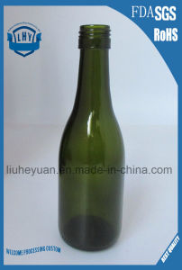 187ml Green Screw Grape Wine Bottle Beverage Bottle pictures & photos