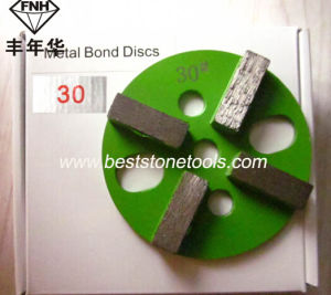 4 Bar Metal Bond Concrete Diamonds for Polishing Concrete