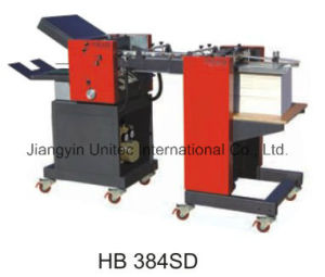 High Speed Automatic Paper Folding Machine Hb-384SD