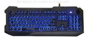 Standard Backlight Keyboard USB Backlighting Keyboard pictures & photos