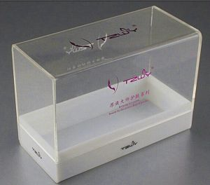 Clear Acrylic Makeup Storage Boxes pictures & photos