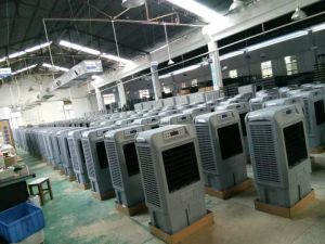 100% New PP Material Manufacturing Mobile Air Cooler pictures & photos