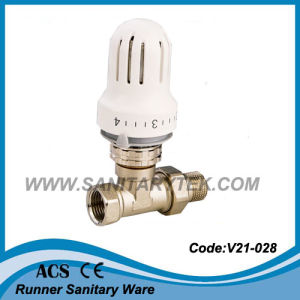 Angle Thermostatic Radiator Valve (V21-031) pictures & photos