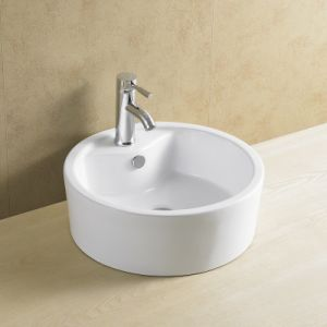 Round Popular Bathroom Basin All Sizes 8015 pictures & photos
