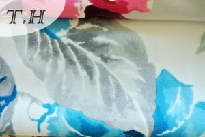 Flower Printed Super Soft Velvet for Sofa, Upholstery pictures & photos