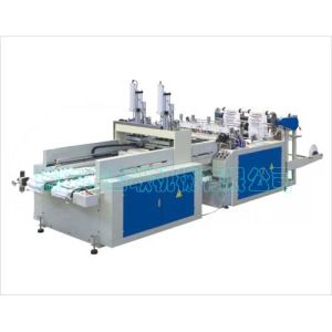 Wholesale Plastic Bag Making Machine for T-Shirt pictures & photos