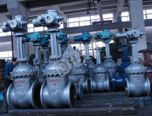 Electric High Pressure Industrial Gate Valve pictures & photos
