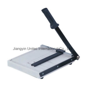 Best Selling Items Manual Paper Cutter Guillotine From Alibaba China No. 829 pictures & photos
