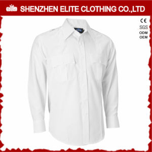 OEM Service Wholesale Men Police 100 Cotton Military Shirts (ELTHVJ-275) pictures & photos