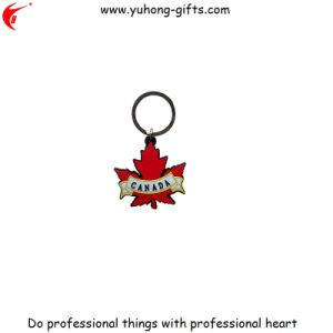 Advertizing 3D Custom Rubber Keychain for Promotion (YH-KC183) pictures & photos