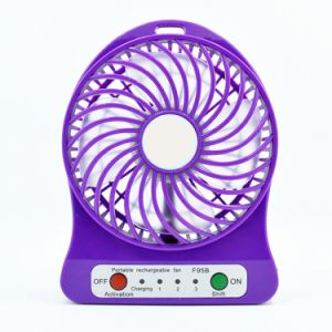 Desk Pocket Mini Fan Handheld Blower Air Cooler Battery Fan pictures & photos