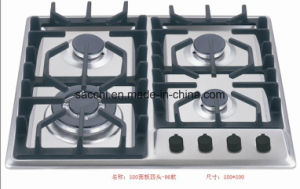 4 Burner Sabaf 2ND Gen Stainless Steel Gas Hob