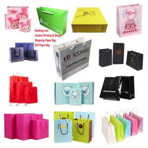 Luxury Party Bags Kraft Paper Gift Bag with Handles Recyclable Loot Bag pictures & photos