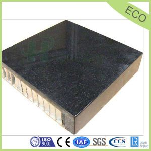 Black Outdoor Granite Stone Honeycomb Panel pictures & photos