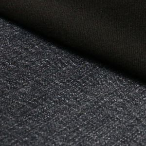 Brushed Cotton Polyester Viscose Spandex Denim Fabric for Men Jeans pictures & photos