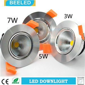 Specular 7W Dimmable Recessed Pure White Project Commercial LED Downlight pictures & photos