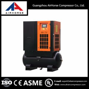 Competitive Price Tank Mounted Screw Air Compressor 7.5HP-20HP pictures & photos
