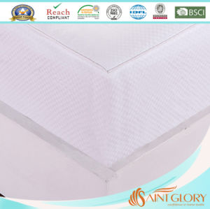 China Supplier Hotel Synthetic Filling Polyester Fabric Mattress Pad pictures & photos