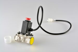 Household Combustible Gas Leakage Detector with Solenoid Valve for Home Safe pictures & photos