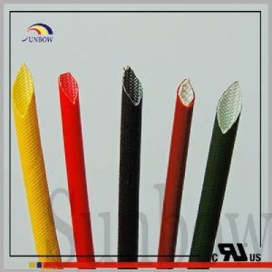Sunbow UL1441 Fray Resist Flame Retardant Silicone Fiberglass Sleeving Sb-SGS-15 pictures & photos