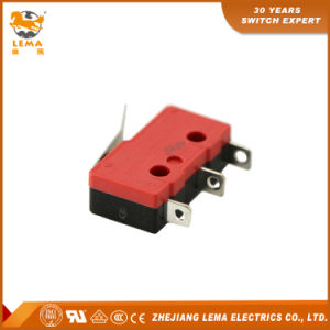 Lema 5A Black and Red Kw12-12 Bent Lever Micro Switch pictures & photos