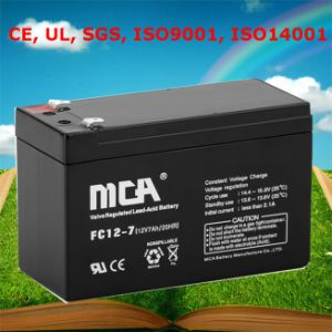 12V 7ah Battery 12V 7ah Sealed Lead Acid Battery pictures & photos