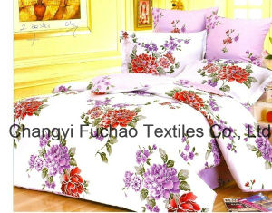 Great 100% Cotton Printed Bedding Set for Twin Size pictures & photos