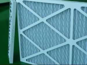 Intake Panel Air Filters/ Cardboard Pre Filter/Blue Colour G4 Pleat Filter pictures & photos