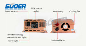 Suoer Power Inverter 500W Solar Car Power Inverter 36V 220V Modified Sine Wave Power Inverter with Factory Price (FAA-500E) pictures & photos
