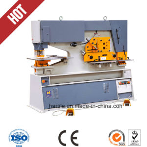 Top Quality Harsle Brand Metal Hole Punch Machine pictures & photos