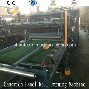 EPS Sandwich Panel Composite Board Machine for Wall Panel Production Line pictures & photos