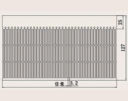 Aluminum Profile Heat Sink From Chengdu Xihe Heatsink Factory pictures & photos