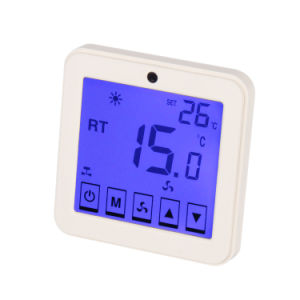 Touch Screen Programmable Digital Room Thermostat for Air Condition 9h pictures & photos