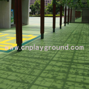 Cheap Playground Safety Mat Plastic Mat Interlock Plastic Mat on Stock (A-22901) pictures & photos