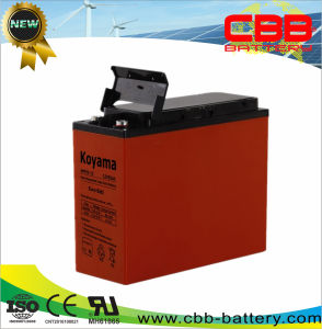"""High Performance 19""""/23"""" Power Cabinet AGM Backup Battery55ah 12V pictures & photos"""