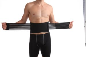 Compression Elastic Polyester Fabric Waist Support Belt pictures & photos