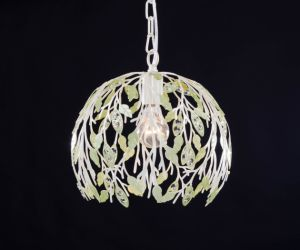 White Floral Ball Pendant Light pictures & photos