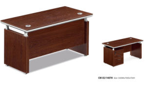 Wood Veneer Staff Laptop Table Office Computer Desk pictures & photos
