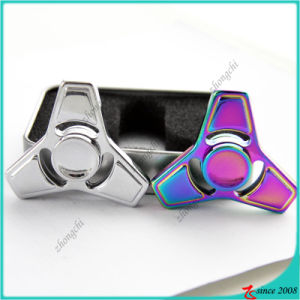 Wholesale Popular Multi-Colors Tri Metal EDC Tri Desk Fidget Spinner Toy