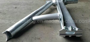 Galvanized Omega Hop-up Bracket for Cuplock Scaffolding Construction pictures & photos