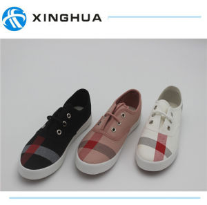 Rubber Shoes Canvas Cheap Casual Footwear 2017 pictures & photos