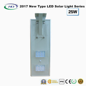 2017 New Type All-in-One Solar LED Garden Light 25W pictures & photos