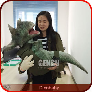 Theme Park Animatronics Dinosaur Puppet pictures & photos