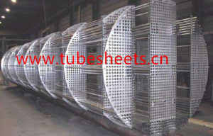 Ce/PED/En10204-3.1 CNC Machining Custom-Made Heat Exchanger Baffle Plate pictures & photos