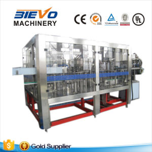 Pet Bottle Carbonated Drink Rising Filling Capping Monoblock Machine pictures & photos
